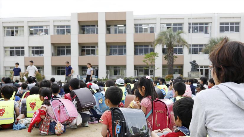 В Японии после землетрясения организована проверка шлакобетонных стен школ по всей стране