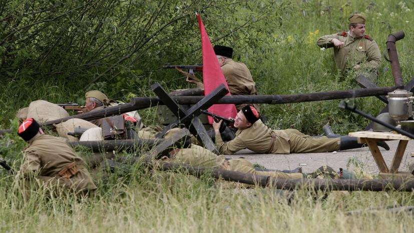Военно-историческая реконструкция пройдёт 22 июня в Хабаровске