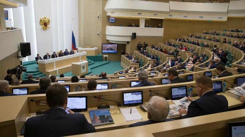 В Совфеде прокомментировали заявление экс-президента Украины о Крыме