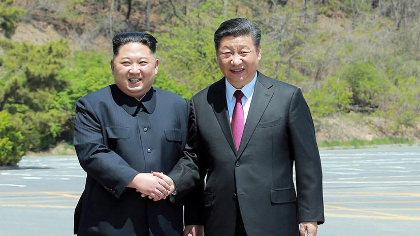 Лидеры КНДР и Китая договорились о защите и развитии двусторонних отношений