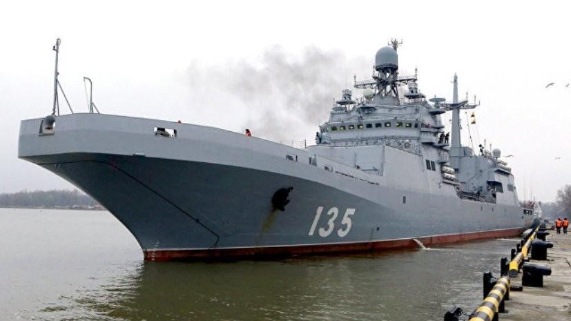 Большой десантный корабль «Иван Грен» передадут флоту 20 июня