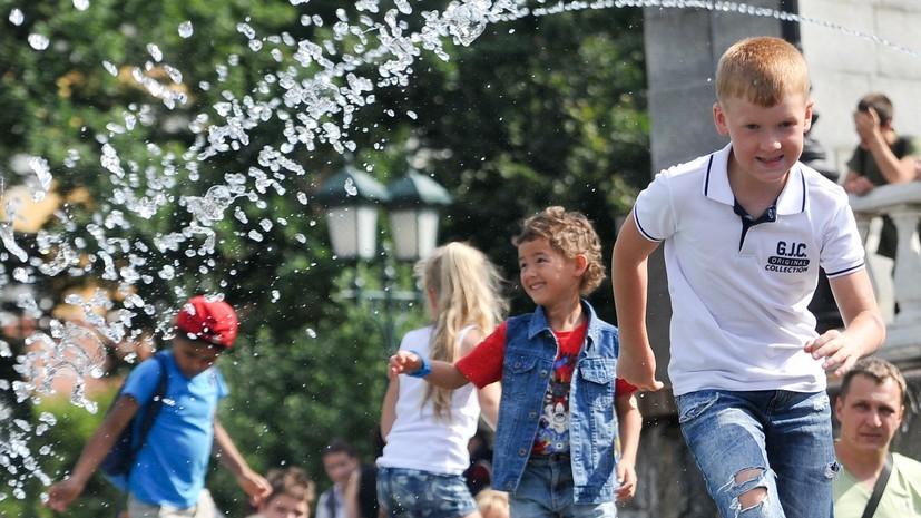 В Москве зафиксировали рекордную для 2018 года температуру