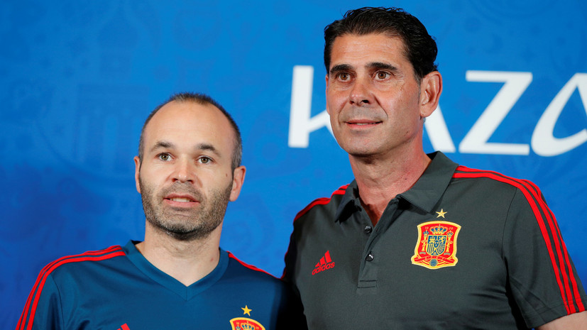 Иньеста рассказал, что футболисты сборной Испании полностью доверяют Йерро