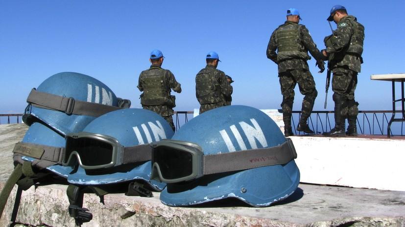 Порошенко и Гутерреш по телефону обсудили вопрос о введении миротворцев в Донбасс