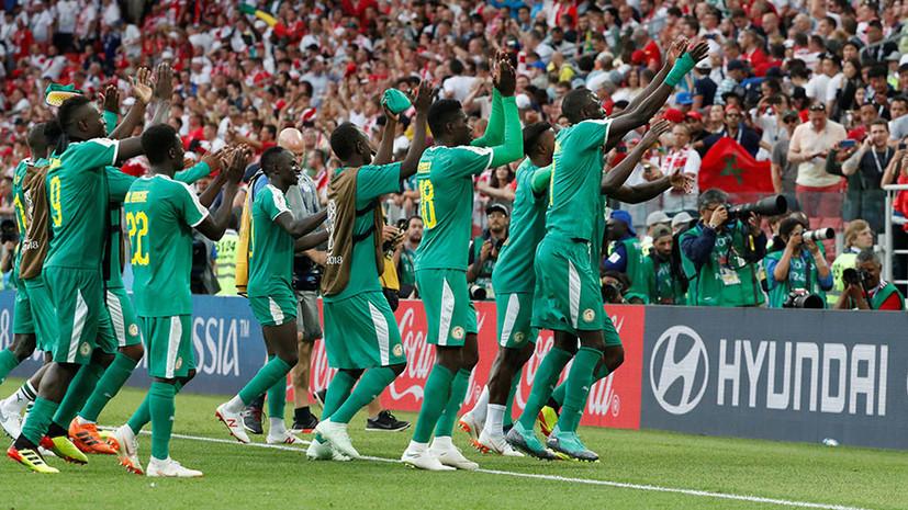 Сборная Сенегала стала первой африканской командой, победившей в матче на ЧМ-2018
