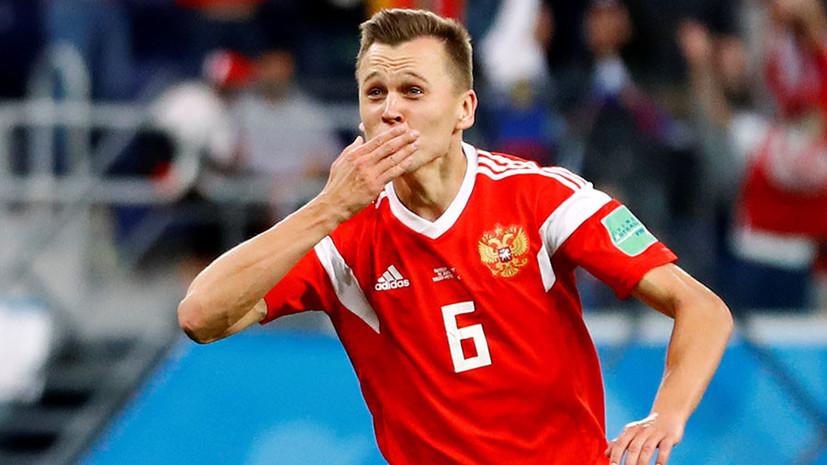 Черышев сравнялся с Роналду по числу голов на ЧМ-2018