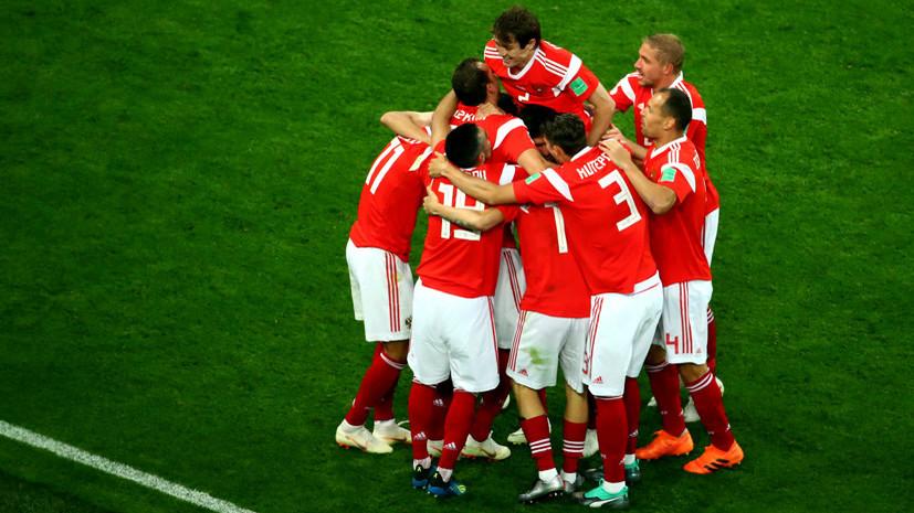 Сборная России по футболу впервые с 2002 года забила более одного мяча в двух матчах на одном ЧМ