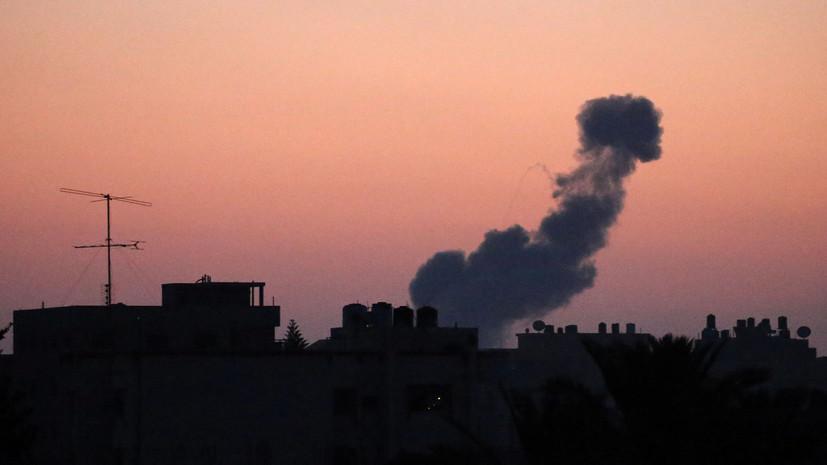 Израильские военные за минувшую ночь засекли пуски около 45 ракет
