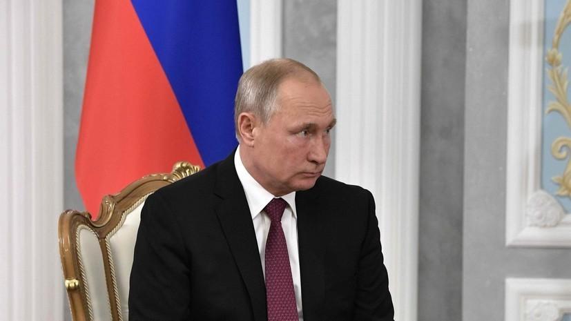 Песков рассказал о реакции Путина на победу сборной России в матче ЧМ-2018 по футболу с Египтом