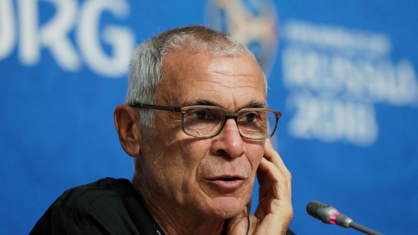 Министр спорта Египта опроверг информацию об отставке тренера сборной страны по футболу Купера
