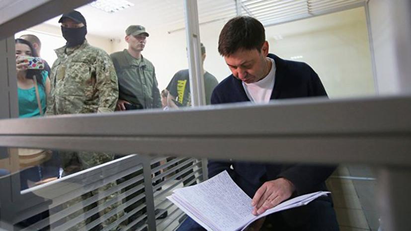 Вышинский подготовил прошение о встрече с Москальковой