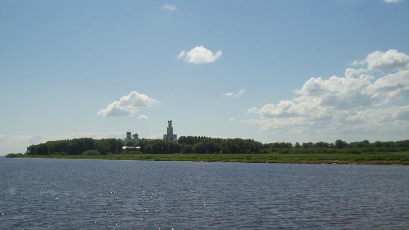 Археологи обнаружили на дне реки Волхов в Великом Новгороде один