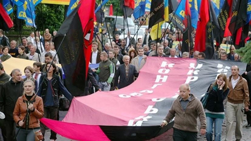 В Сумах разрешили поднимать бандеровский флаг на официальных мероприятиях