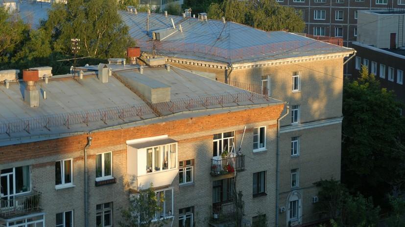 В Москве планируют отремонтировать более тысячи крыш до конца года