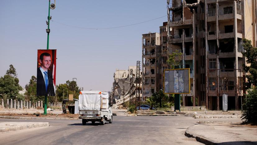 В Сирии в провинциях Хомс и Восточная Гута за прошедшие