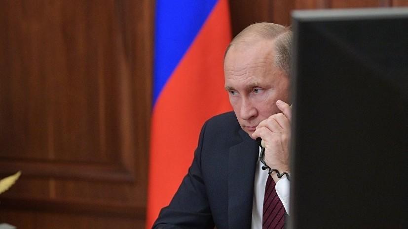 В Кремле раскрыли подробности разговора Путина и Порошенко