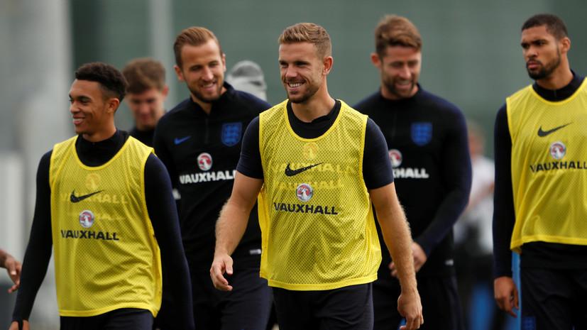 Сборная Англии по футболу посетила Эрмитаж