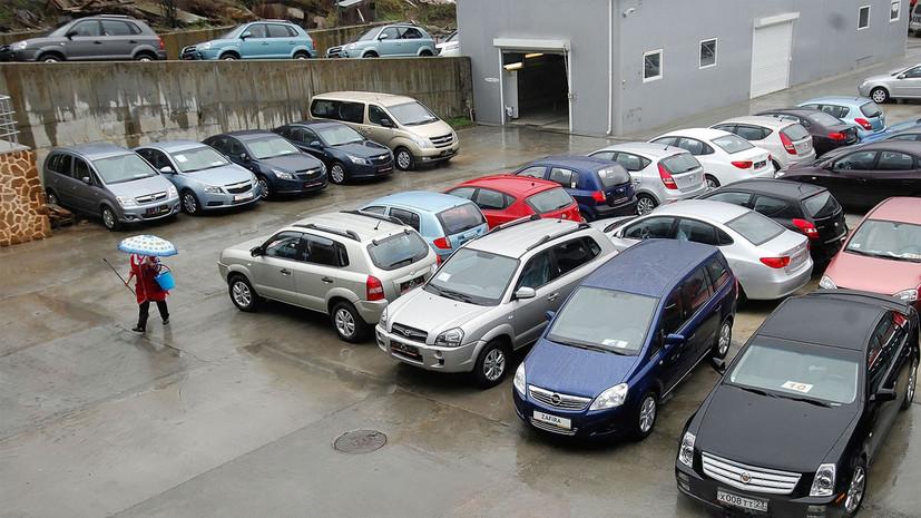 В Москве и Подмосковье сократились продажи автомобилей с пробегом