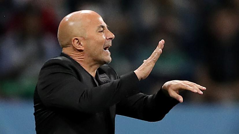 СМИ: Сампаоли получит $20 млн в случае досрочного расторжения контракта со сборной Аргентины