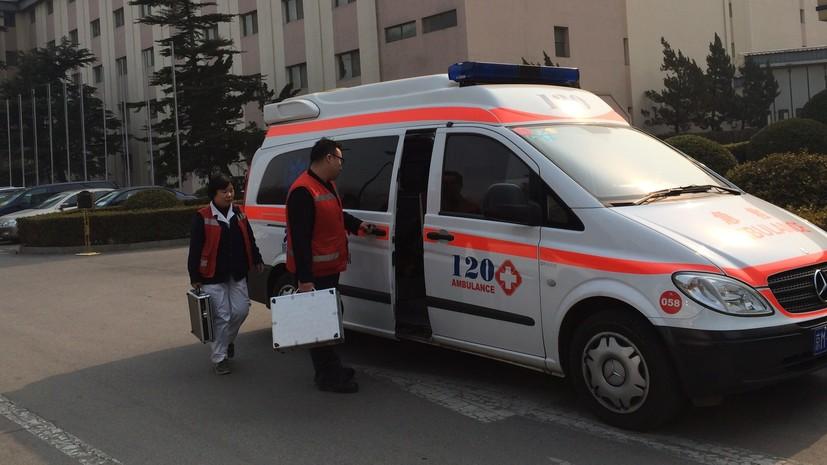 СМИ: В Китае восемь человек пострадали при нападении неизвестного с ножом