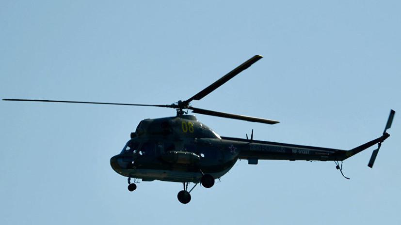 Пропавший в ХМАО вертолёт Ми-2 найден разрушенным