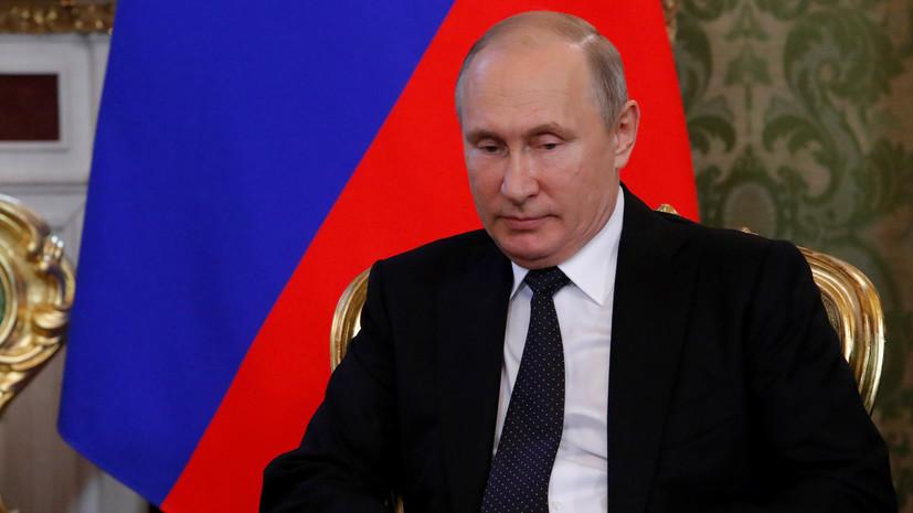 Путин рассказал о возможном участии Южной Кореи в проекте «Арктик СПГ — 2»