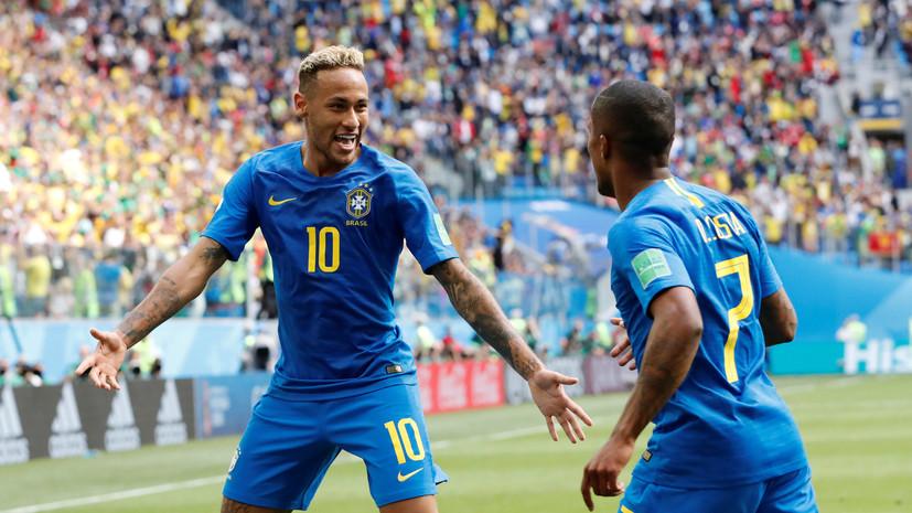 Неймар вышел на третье место в списке лучших бомбардиров в истории сборной Бразилии