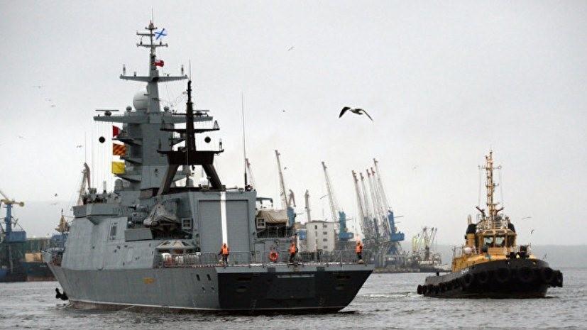 В Комсомольске-на-Амуре началось заселение нового корвета «Громкий»