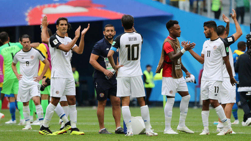 Рамирес заявил, что ему не в чем упрекнуть игроков сборной Коста-Рики