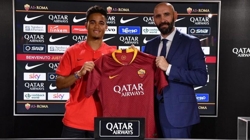 Сын экс-футболиста «Барселоны» Клюйверта перешёл в итальянскую «Рому»
