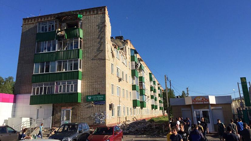 Число пострадавших при взрыве газа в жилом доме в Татарстане возросло до десяти