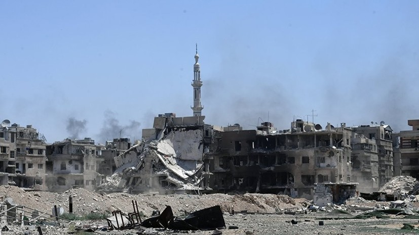 Крупная группировка ССА перешла на сторону правительства Сирии