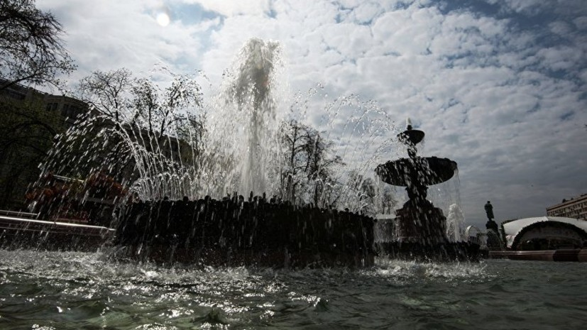 В МЧС предупредили о сильной жаре в Москве 23 июня