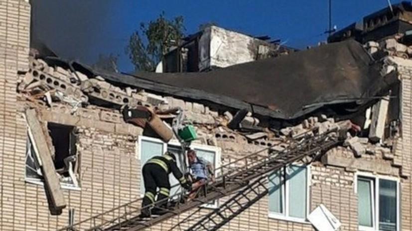 Пострадавшим от взрыва газа в жилом доме в Татарстане окажут материальную поддержку