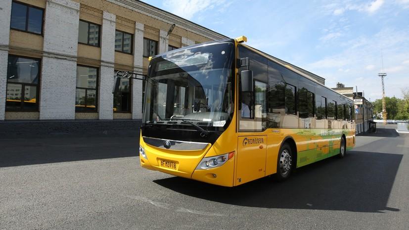 В Москве запустили два новых автобусных маршрута