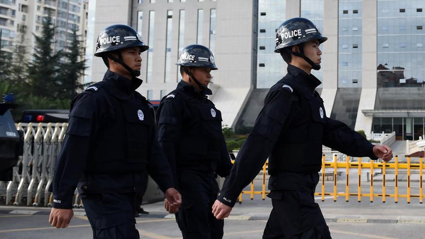 В Китае десять человек приговорили к казни за наркопреступления
