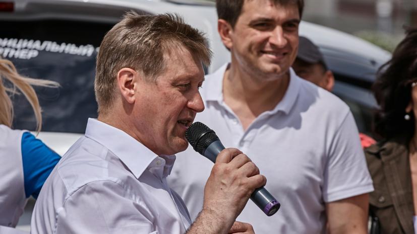 Мэр Новосибирска посетил открытие отреставрированной конторы инженера Будагова