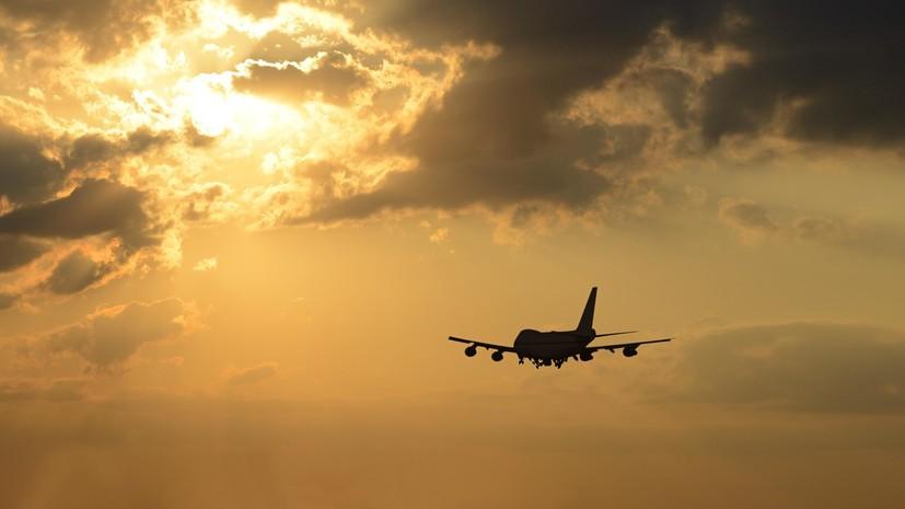 В Одессе совершил экстренную посадку летевший в Барселону самолёт