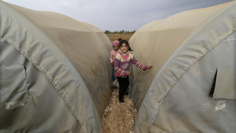 В Сирии возобновили работу гуманитарного коридора из зоны деэскалации«Идлиб»