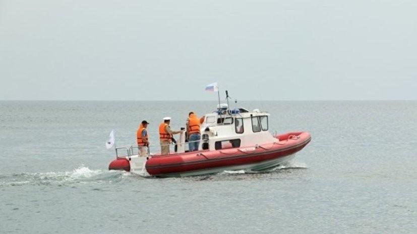 Пограничникам передали новый скоростной катер для патрулирования Чёрного моря