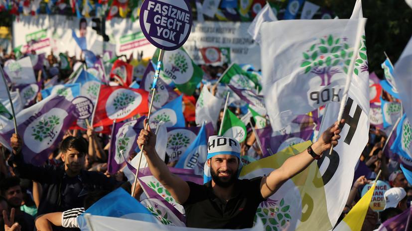 Курды приостановили антиправительственные действия в день проведения выборов в Турции