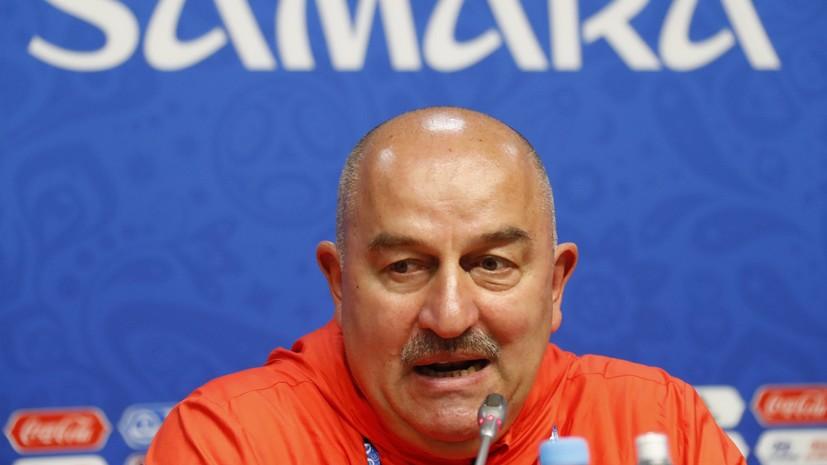 Черчесов сравнил нынешнюю сборную России с командой, участвовавшей в Кубке конфедераций