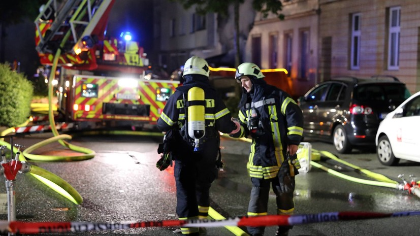 В результате взрыва в жилом доме в Германии пострадали 25 человек