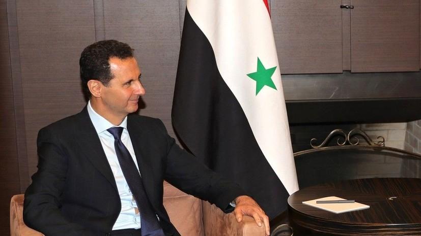 Асад: присутствие России в Сирии имеет важное значение для восстановления баланса сил в мире