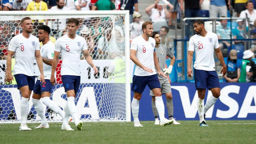 В матче Англия — Панама впервые на ЧМ-2018 забито пять голов в одном тайме
