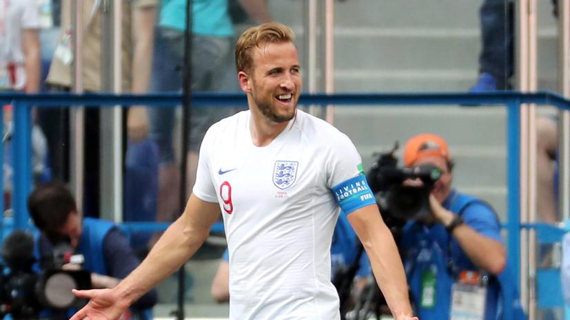 Футболист сборной Англии Кейн обошёл Роналду и Лукаку в гонке бомбардиров ЧМ-2018