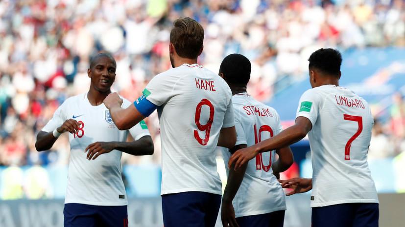 Сборная Англии разгромила Панаму в матче ЧМ-2018