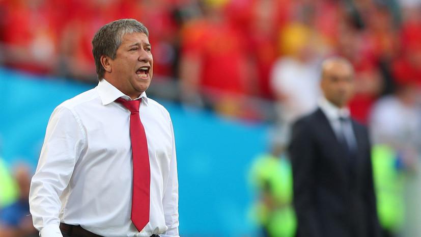 Тренер сборной Панамы заявил, что Англия могла обыграть его команду с более крупным счётом