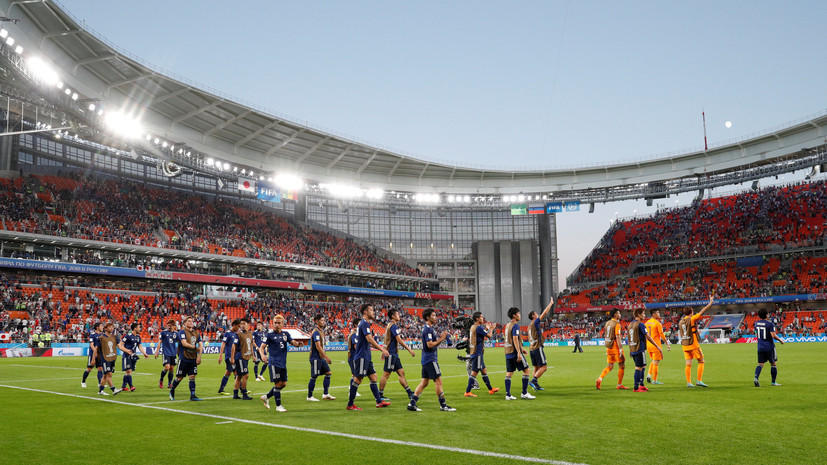 Видеообзор матча ЧМ-2018 по футболу Япония — Сенегал