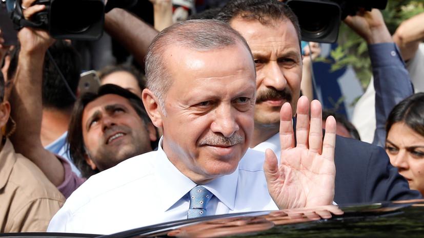 Эрдоган побеждает на выборах президента Турции после обработки 90% бюллетеней